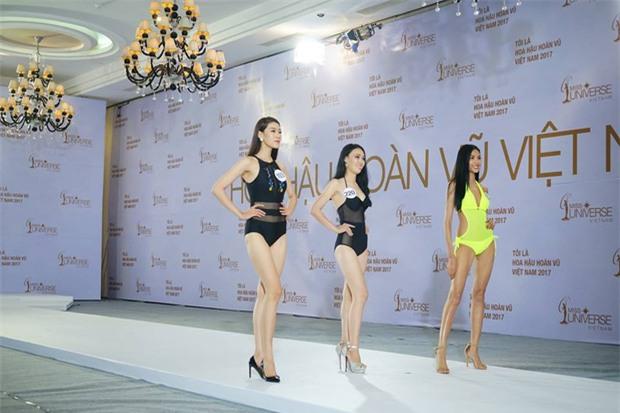 Hoàng Thùy thi bikini tại Hoa hậu Hoàn vũ cũng phải thật nổi bật! - Ảnh 2.