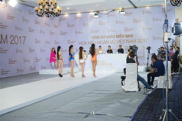 Hoàng Thùy thi bikini tại Hoa hậu Hoàn vũ cũng phải thật nổi bật! - Ảnh 5.