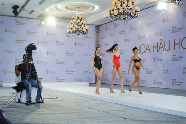 Hoàng Thùy thi bikini tại Hoa hậu Hoàn vũ cũng phải thật nổi bật! - Ảnh 6.