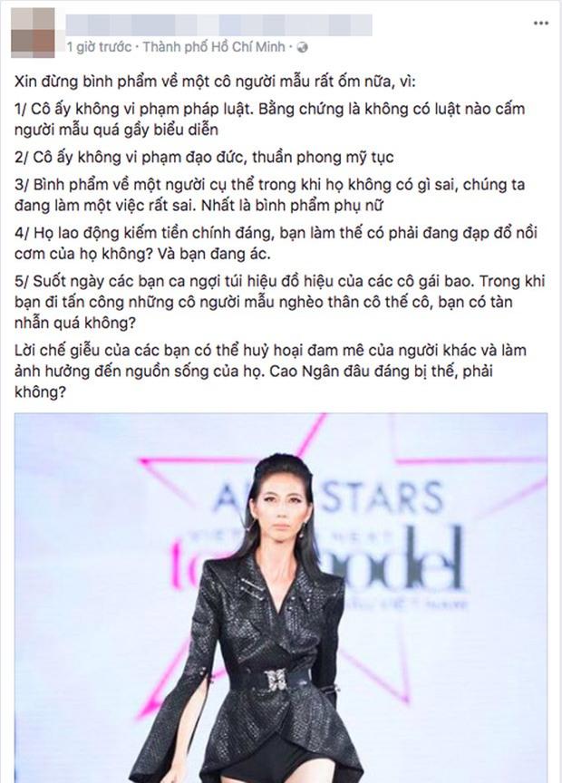 """cung canh ngo, le thuy len tieng bao ve cao ngan truoc """"dan bom du luan"""" - 7"""