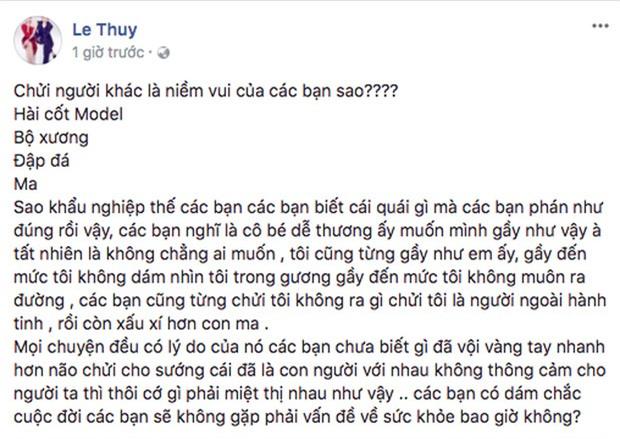 """cung canh ngo, le thuy len tieng bao ve cao ngan truoc """"dan bom du luan"""" - 3"""