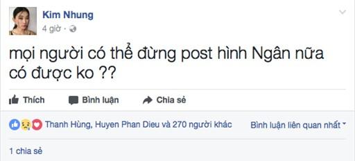 """cung canh ngo, le thuy len tieng bao ve cao ngan truoc """"dan bom du luan"""" - 5"""
