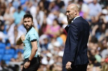 Thầy trò Zinedine Zidane gặp nhiều khó khăn khi thiếu vắng CR7