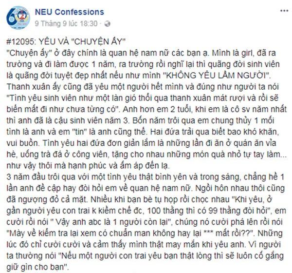 """""""giu gin"""" cho ban gai suot 4 nam, chang trai quay ngoat 180 do sau khi lam """"chuyen ay"""" - 1"""