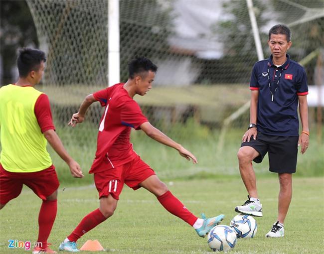 HLV Hoang Anh Tuan khong so U18 Thai Lan, muon thang moi doi thu hinh anh 1