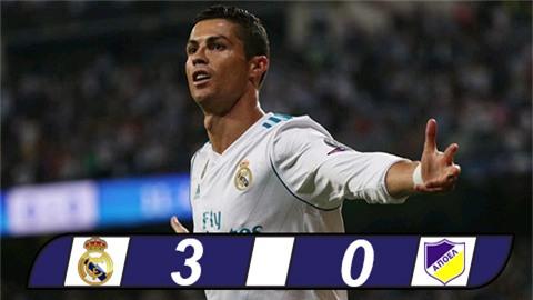 Ronaldo lập cú đúp, Real khởi đầu suôn sẻ tại Champions League