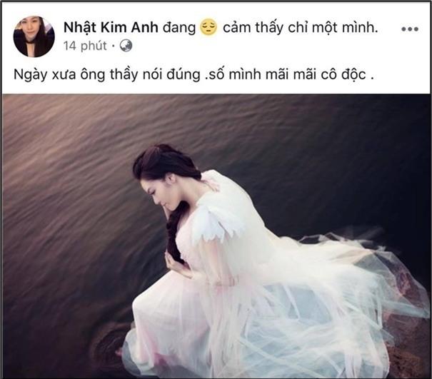 Dòng trạng thái mới nhất của Nhật Kim Anh càng khiến khán giả hoang mang về mối quan hệ vợ chồng giữa cô với doanh nhân Bửu Lộc. - Tin sao Viet - Tin tuc sao Viet - Scandal sao Viet - Tin tuc cua Sao - Tin cua Sao