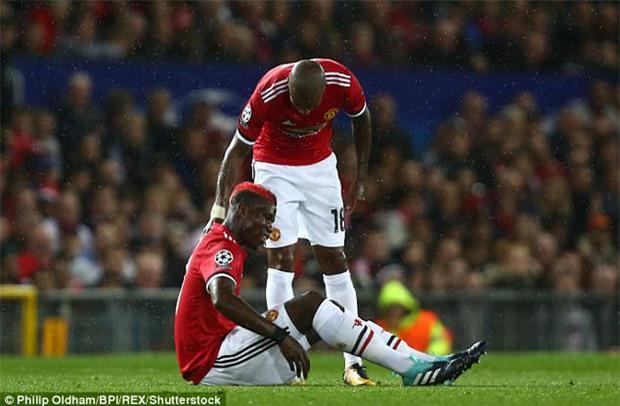 Pogba đã cố nhuộm tóc đỏ, nhưng vận đen vẫn đeo bám - Ảnh 1.