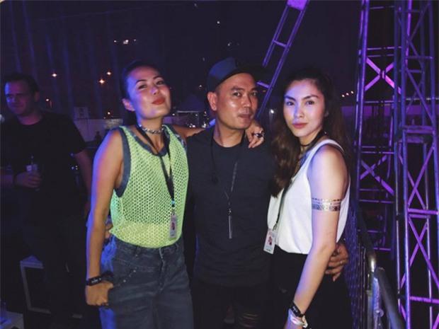Tăng Thanh Hà xuất hiện trong sự kiện The Chainsmokers, ủng hộ em chồng sau sự cố Ariana hủy show - Ảnh 7.