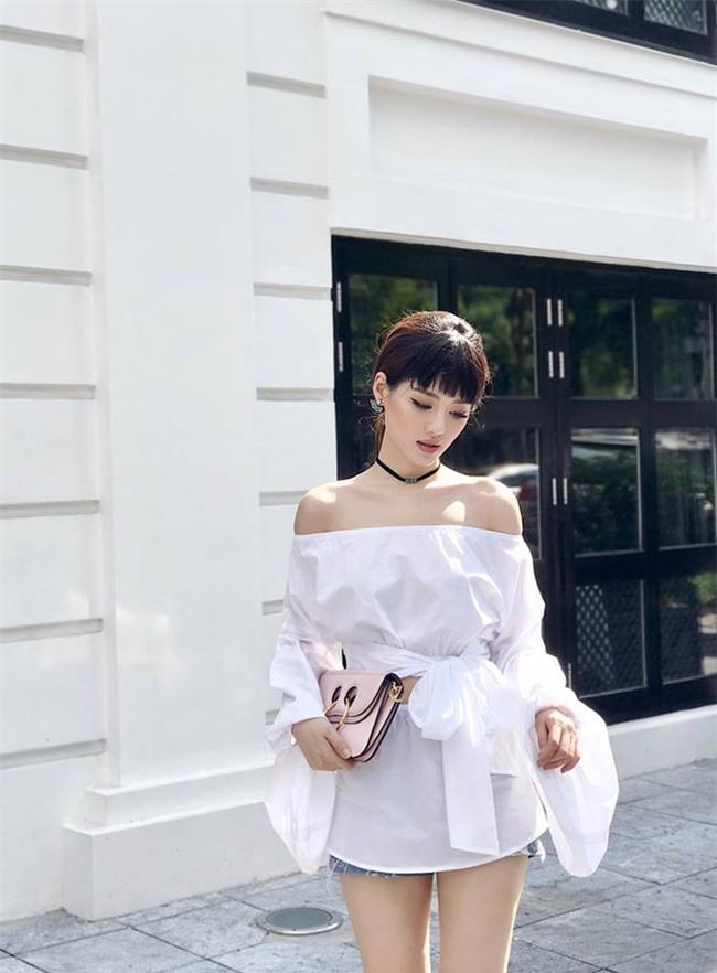 Kỳ Duyên, Khánh Linh The Face đọ hàng hiệu trong street style tuần qua - Ảnh 10.