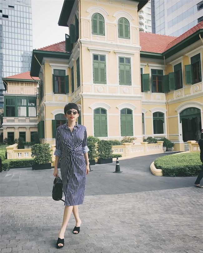 Kỳ Duyên, Khánh Linh The Face đọ hàng hiệu trong street style tuần qua - Ảnh 8.