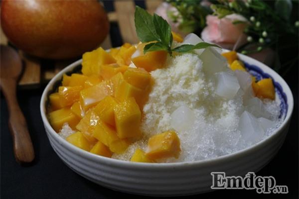 Kem xoài kiểu Đài Loan, món tráng miệng tuyệt ngon chỉ tiêu tốn của bạn 20 phút-1