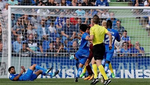 Shibasaki ghi bàn mở tỷ số cho Getafe