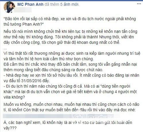MC Phan Anh, MC Quốc dân, Phan Anh, sao việt