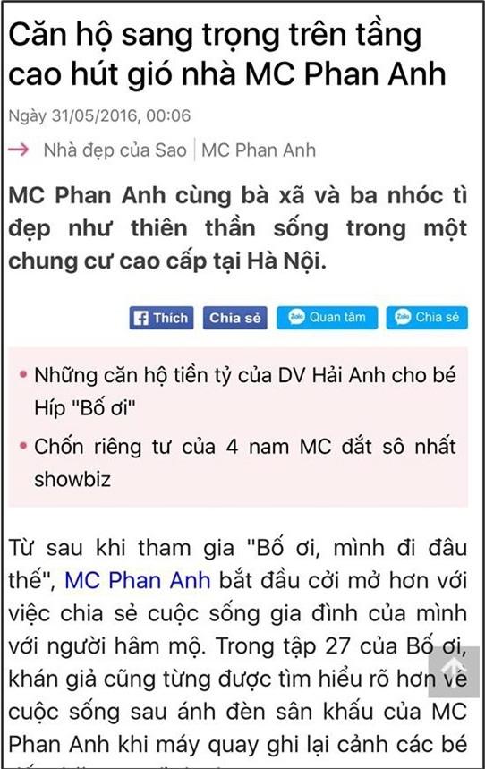 MC Phan Anh đanh thép đáp trả anti-fan: muốn hại nhau thì chọn cách có não tí, lũ khốn - Tin sao Viet - Tin tuc sao Viet - Scandal sao Viet - Tin tuc cua Sao - Tin cua Sao
