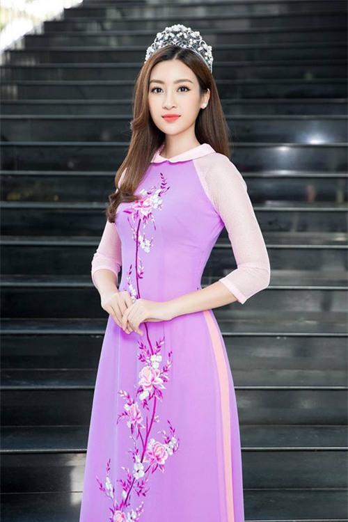 Nếu định mặc bộ áo dài này đi thi Miss World thì Đỗ Mỹ Linh sai quá rồi - Ảnh 1.