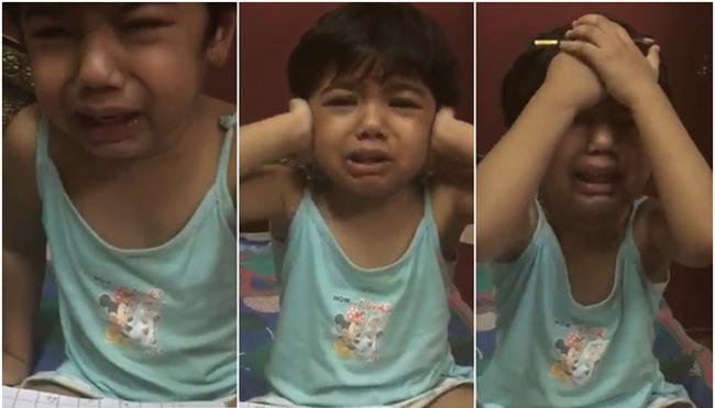 Từ clip bé gái 4 tuổi bị mẹ la hét, tát vào mặt vì không biết đọc, nghĩ về cách kỷ luật con của cha - Ảnh 1.