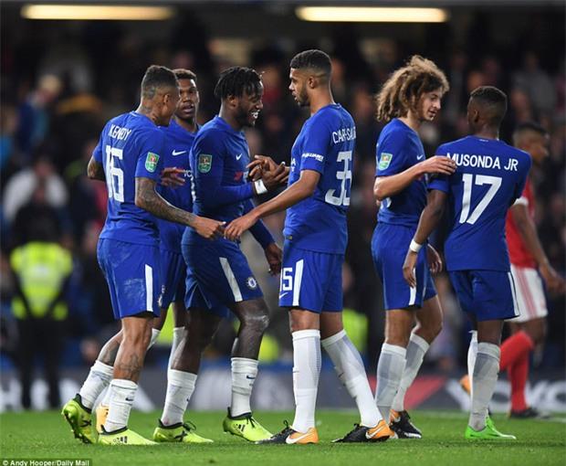 Chelsea thắng đậm, hiên ngang vào vòng 4 Cúp Liên đoàn - Ảnh 11.
