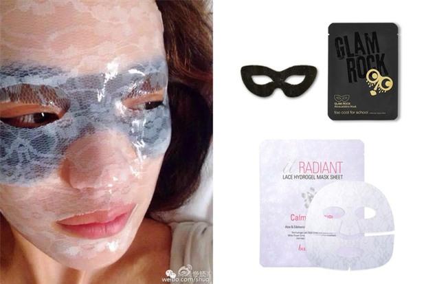 Loạt người đẹp Châu Á sử dụng mặt nạ giấy như 1 bước chăm sóc da hàng ngày - Ảnh 10.