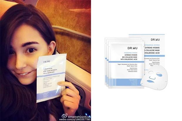 Loạt người đẹp Châu Á sử dụng mặt nạ giấy như 1 bước chăm sóc da hàng ngày - Ảnh 11.