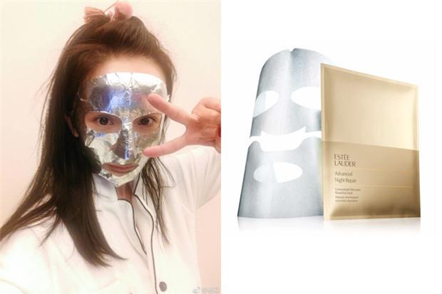 Loạt người đẹp Châu Á sử dụng mặt nạ giấy như 1 bước chăm sóc da hàng ngày - Ảnh 7.