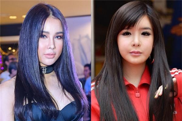 Khi so sánh Diệp Lâm Anh với thành viên nhóm 2NE1 - Park Bom không khác nhau là mấy. - Tin sao Viet - Tin tuc sao Viet - Scandal sao Viet - Tin tuc cua Sao - Tin cua Sao