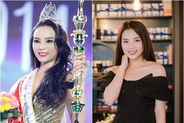 """Kỳ Duyên cũng là Hoa hậu có nhan sắc thay đổi """"chóng mặt"""" nhất showbiz Việt chỉ trong thời gian ngắn. - Tin sao Viet - Tin tuc sao Viet - Scandal sao Viet - Tin tuc cua Sao - Tin cua Sao"""