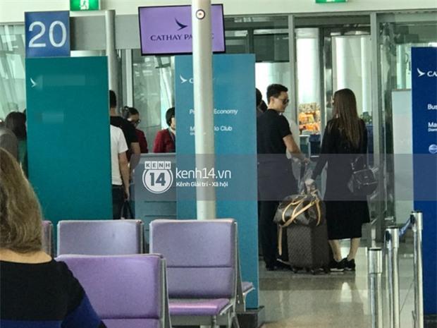 Vừa trở về từ Paris, Hà Hồ - Kim Lý tiếp tục bị bắt gặp diện đồ đôi cùng nhau lên đường sang New York - Ảnh 5.