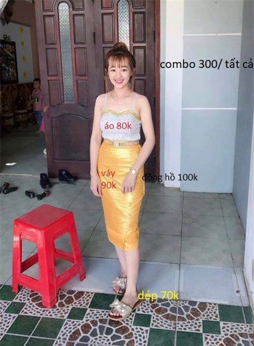 "cuoi ngat voi cai ket hot girl len mang nho cac ""thanh photoshop"" xoa chiec ghe do - 11"