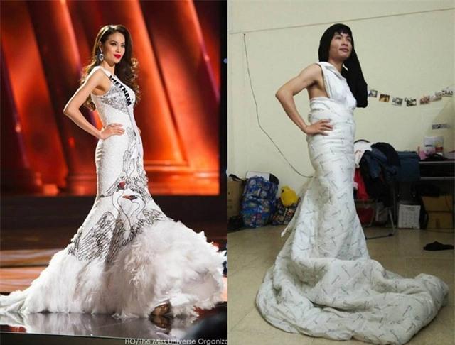 Đến cả Hoa hậu Phạm Hương cũng lọt vào được Tuấn cosplay