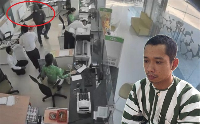 """Vụ kỹ sư cướp ngân hàng: Nhân viên """"tích cực"""" gom tiền bỏ vào túi cho kẻ cướp"""