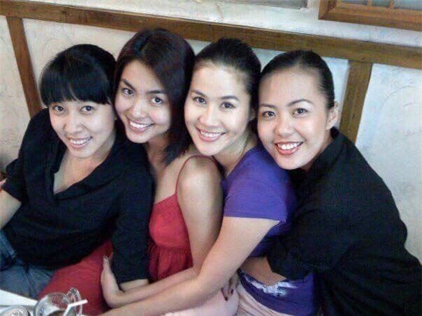 Năm 2007, bộ tứ Tăng Thanh Hà, Thân Thúy Hà, Bùi Việt Hà và Thùy Trang đã là những người bạn thân thiết. - Tin sao Viet - Tin tuc sao Viet - Scandal sao Viet - Tin tuc cua Sao - Tin cua Sao