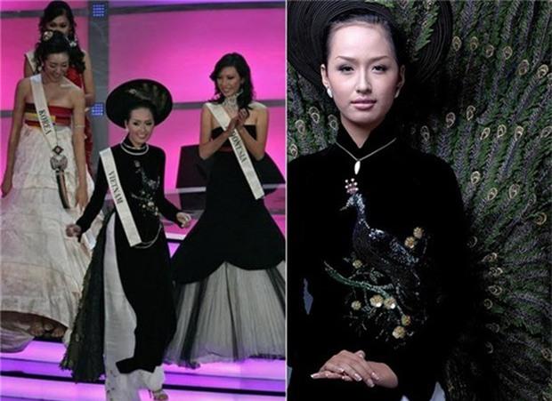 Đi thi Miss World, các người đẹp Việt thường chuẩn bị những kiểu áo dài như thế nào? - Ảnh 8.