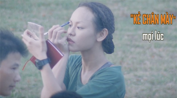 Hương Giang và Mai Ngô nhập ngũ: Quên ăn, quên ngủ nhưng kiểu gì cũng phải bôi trát đầy đủ - Ảnh 7.