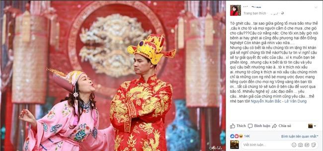 Nghệ sĩ Việt mỗi người mỗi ý khi nói về sự kiện vợ chồng Xuân Bắc bị chỉ trích ham danh-2