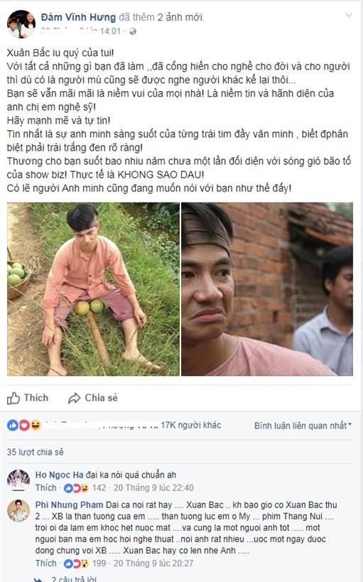 Nghệ sĩ Việt mỗi người mỗi ý khi nói về sự kiện vợ chồng Xuân Bắc bị chỉ trích ham danh-7