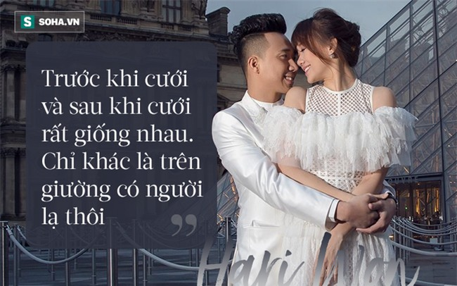 Hari Won: Tôi chưa cảm nhận được là có chồng, nằm cạnh Trấn Thành như người lạ! - Ảnh 2.