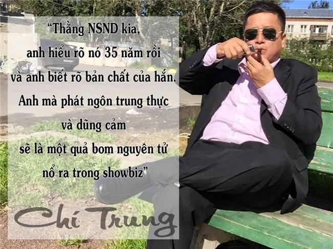 Những phát ngôn khiến người nghe giật mình của NSƯT Chí Trung-4