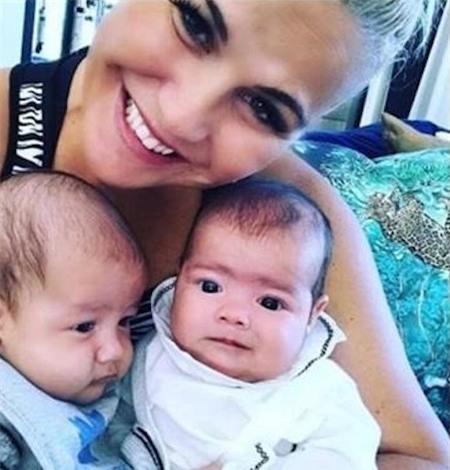 Katia Aveiro vừa vui mừng khoe ảnh hai cháu trên mạng xã hội