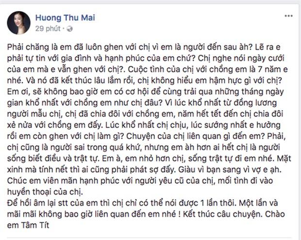 """Tâm Tít - Maya: Xem lại toàn cảnh đại chiến """"vợ và người yêu cũ"""" ồn ào nhất showbiz Việt! - Ảnh 4."""