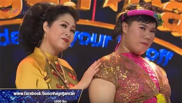 Bước nhảy ngàn cân: Chàng béo xuất thần hóa thân thành nghệ sĩ hài Hồng Vân phiên bản nam-2