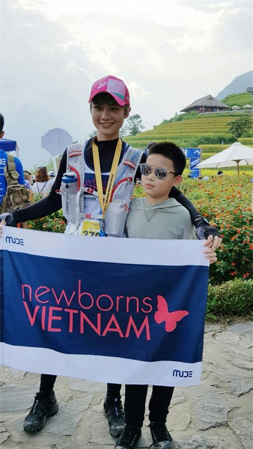 MC Thùy Dung và Á hậu Hoàng My hào hứng tham gia giải Vietnam Mountain Marathon 2017 tại Sapa - Ảnh 2.
