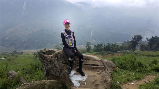 MC Thùy Dung và Á hậu Hoàng My hào hứng tham gia giải Vietnam Mountain Marathon 2017 tại Sapa - Ảnh 3.