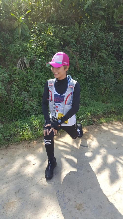 MC Thùy Dung và Á hậu Hoàng My hào hứng tham gia giải Vietnam Mountain Marathon 2017 tại Sapa - Ảnh 5.