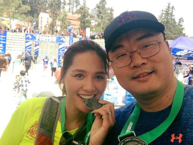 MC Thùy Dung và Á hậu Hoàng My hào hứng tham gia giải Vietnam Mountain Marathon 2017 tại Sapa - Ảnh 11.