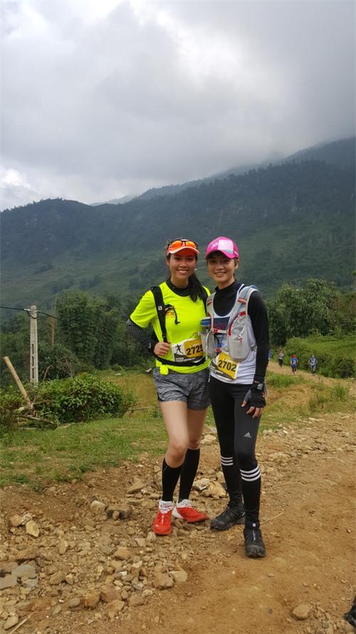MC Thùy Dung và Á hậu Hoàng My hào hứng tham gia giải Vietnam Mountain Marathon 2017 tại Sapa - Ảnh 8.