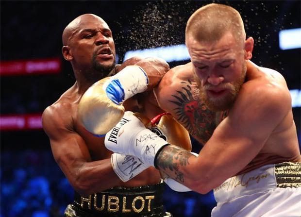Mayweather không đấm gục McGregor vì sợ đối thủ vỡ não - Ảnh 2.