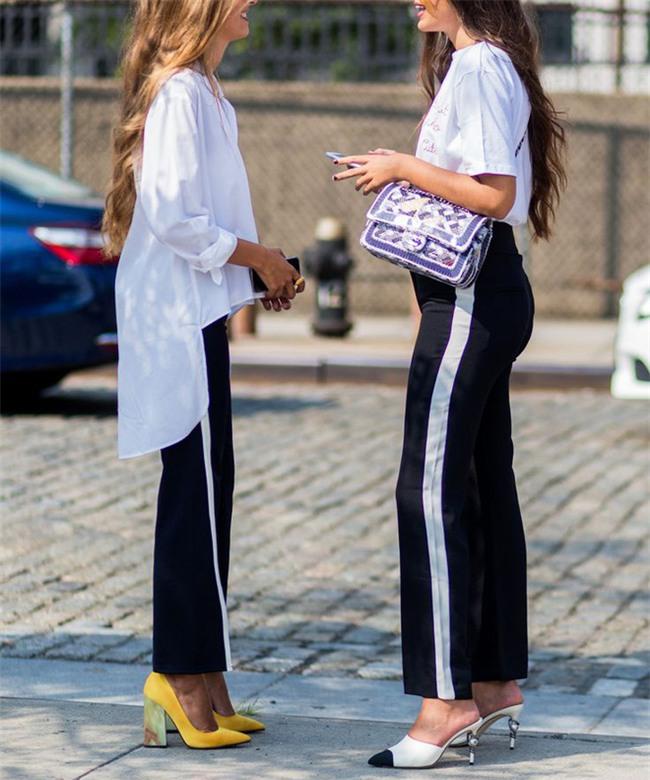 Thu/Đông này, quần thể thao kẻ sọc thân chắc chắn sẽ soán ngôi tất thảy các kiểu quần dài khác - Ảnh 25.