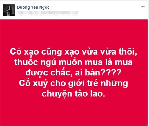 "pha le mia mai duong yen ngoc ""chua song tot bang ai nen dung len mat day doi"" - 1"
