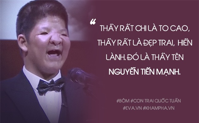 """thay nguyen tien manh: """"khong co rang ham, bom nuot song cai banh vi yeu thay"""" - 1"""